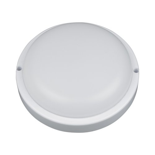 ULW-Q221 8W-DW IP65 WHITE Светильник светодиодный влагозащищенный. Круг. Дневной свет6500K. 640Лм. Диаметр 14 см. Корпус белый. ТМ Volpe.