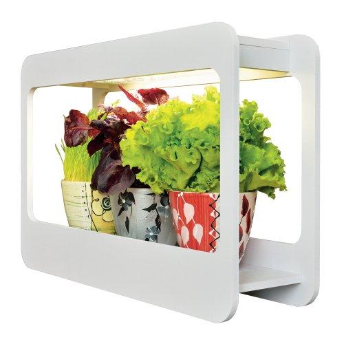 ULT-P30-15W-SPFS IP40 WHITE Светильник для растений светодиодный с подставкой Минисад. Спектр для фотосинтеза с высокой цветопередачей. TM Uniel