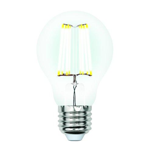 LED-A60-7W-WW-E27-CL-DIM GLA01TR Лампа светодиодная диммируемая. Форма A. прозрачная. Серия Air. Теплый белый свет 3000K. Картон. ТМ Uniel