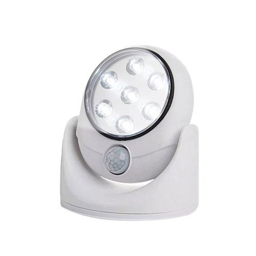 ULK-N21 SENSOR WHITE Светодиодный светильник накладной. с датчиком движения. На батарейках 4АА не в комплекте. Белый. ТМ Uniel.