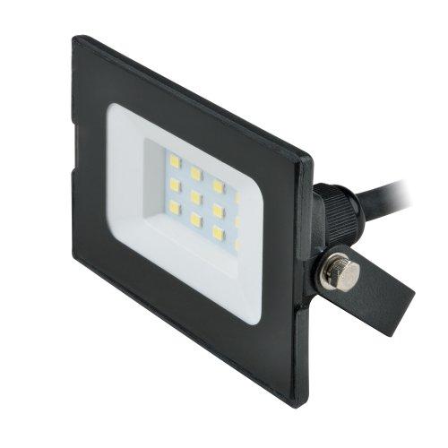 ULF-Q513 10W-3000K IP65 220-240В BLACK Прожектор светодиодный. Теплый белый свет 3000К. Корпус черный. TM Volpe.