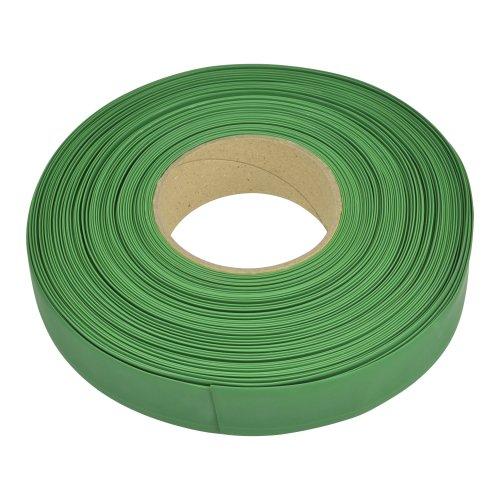 UIS-R100 22.8-11-050 GREEN GRASS ROLL Термоусадочная трубка. рулон 50м. Диаметр до усадки 22.8мм. после 11мм. Зеленая трава. ТМ Uniel.