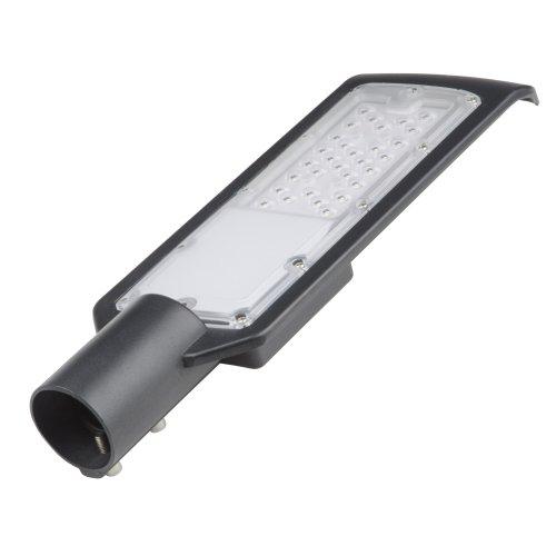ULV-Q610 50W-6500К IP65 BLACK Светильник-прожектор светодиодный для уличного освещения. Консольный. Дневной свет 6500К. Угол 120 градусов. TM Volpe.