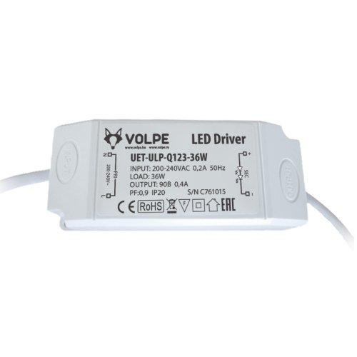 UET-ULP-Q123-36W Блок питания для светодиодного светильника ULP-Q123 6060-36W ТМ Volpe.