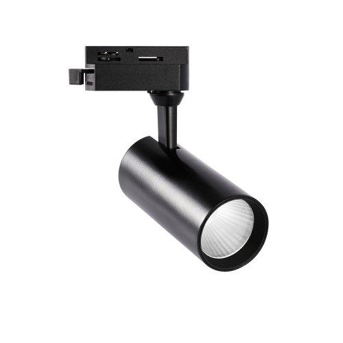 ULB-Q276 15W-4000К BLACK Светильник-прожектор светодиодный трековый. 1350 Лм. Белый свет 4000К. Корпус черный. ТМ Volpe.