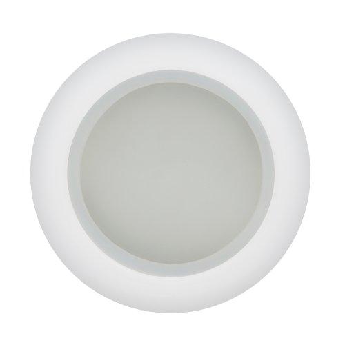 DLS-A201 GU5.3 IP44 WHITE Светильник декоративный встраиваемый. серия Arno. Без лампы. цоколь GU5.3. Металл. Белый. ТМ Fametto