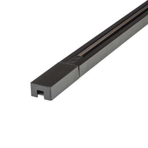 UBX-Q122 GS2 BLACK 300 SET01 Шинопровод осветительный. тип G. в наборе с заглушкой и вводом питания. Однофазный. Черный. Длина 3м. ТМ Volpe.