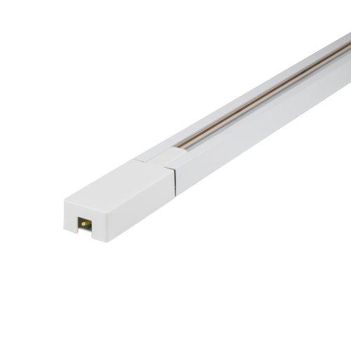 UBX-Q122 GS2 WHITE 100 SET01 Шинопровод осветительный. тип G. в наборе с заглушкой и вводом питания. Однофазный. Белый. Длина 1м. ТМ Volpe.