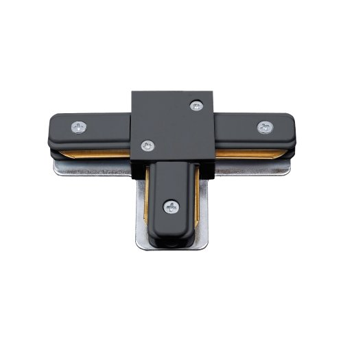 UBX-Q122 G31 BLACK 1 POLYBAG Соединитель для шинопроводов типа G. Т-образный Однофазный. Черный. ТМ Volpe.