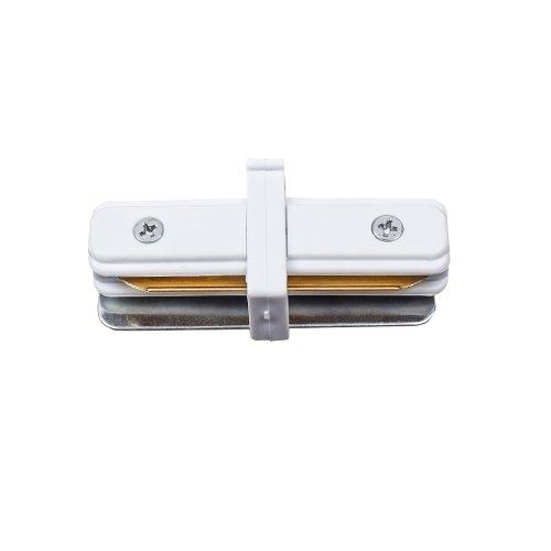 UBX-Q122 G11 WHITE 1 POLYBAG Соединитель для 2-х шинопроводов типа G. прямой внутренний. Однофазный. Белый. ТМ Volpe.