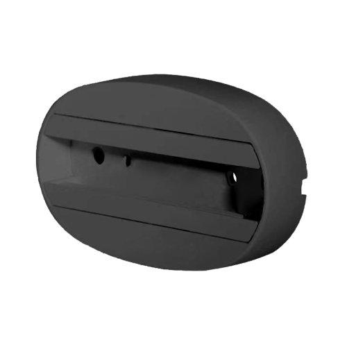 UBX-Q122 G81 BLACK 1 POLYBAG Чашка потолочного крепления. Однофазная. Черная. ТМ Volpe.
