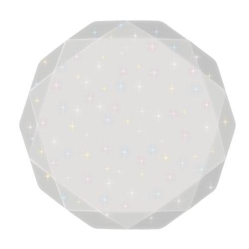 ULI-D225 60W-SW-51 LIBRA Светильник светодиодный накладной. Диммируемый. Пульт ДУ в-к. Теплый свет3000К-Белый свет4000К-Дневной свет6500К. 4200Лм. IP20. TM Uniel.