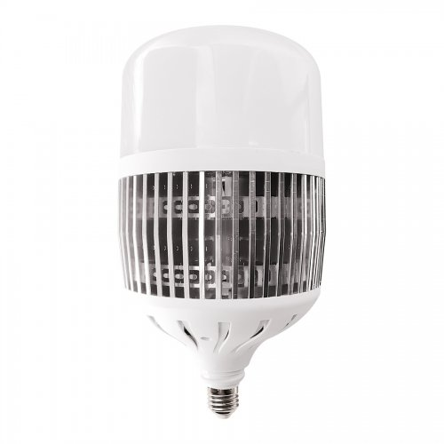 LED-M80-100W-6500K-E27-FR-NR Лампа светодиодная. матовая. Серия Norma. Дневной белый свет 6500K. Картон. ТМ Volpe.