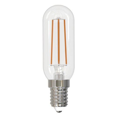 LED-Y25-5W-3000K-E14-CL GLZ04TR Лампа светодиодная для холодильников и вытяжки. прозрачная. Теплый белый свет 3000K. Картон. ТМ Uniel