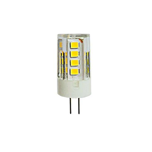 LED-JC-220-3W-3000K-G4-CL GLZ09TR Лампа светодиодная. прозрачная. Теплый белый свет 3000К. Картон. ТМ Uniel.