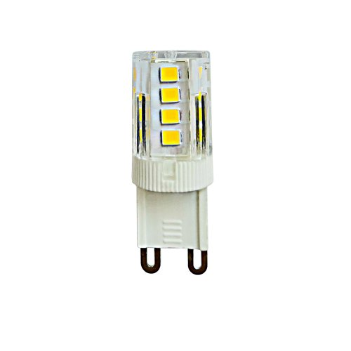 LED-JCD-3W-3000K-G9-CL GLZ09TR Лампа светодиодная. прозрачная. Теплый белый свет 3000К. Картон. ТМ Uniel.