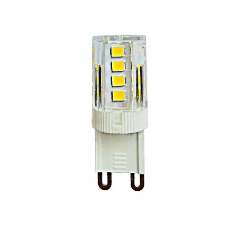 LED-JCD-3W-4000K-G9-CL GLZ09TR Лампа светодиодная. прозрачная. Белый свет 4000К. Картон. ТМ Uniel.