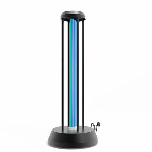UGL-T01A-36W-UVCO BLACK Светильник ультрафиолетовый бактерицидный настольный. С озонированием. 185 нм. Корпус черный. ТМ Uniel