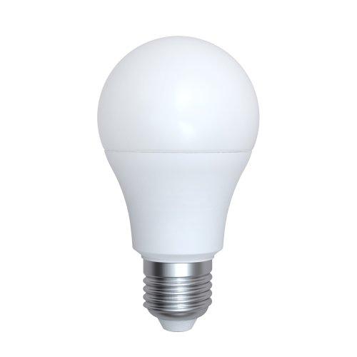 LED-A60-9W-4000K-E27-FR-RA95 PLK01WH Лампа светодиодная. матовая. Белый свет 4000K. Картон. ТМ Uniel.