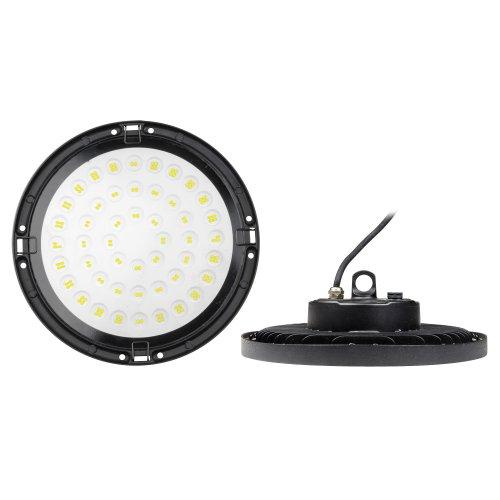 ULY-U34C-150W-6500K IP65 BLACK Светильник светодиодный промышленный. Дневной свет 6500K. Угол 120 градусов. TM Uniel.
