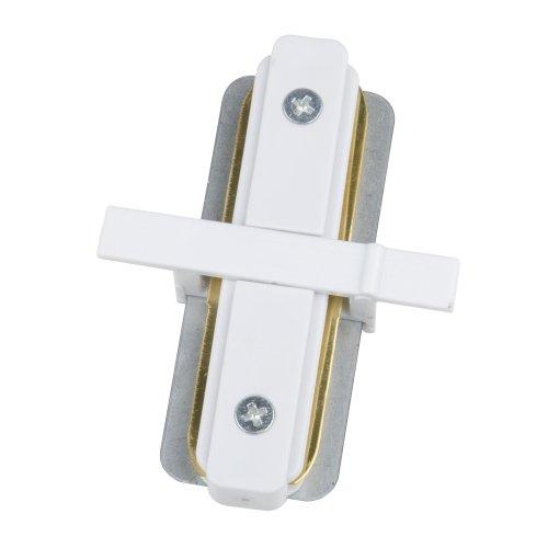 UBX-Q123 R11 WHITE 1 POLYBAG Соединитель для 2-х шинопроводов типа R. прямой внутренний. Однофазный. Белый. ТМ Volpe