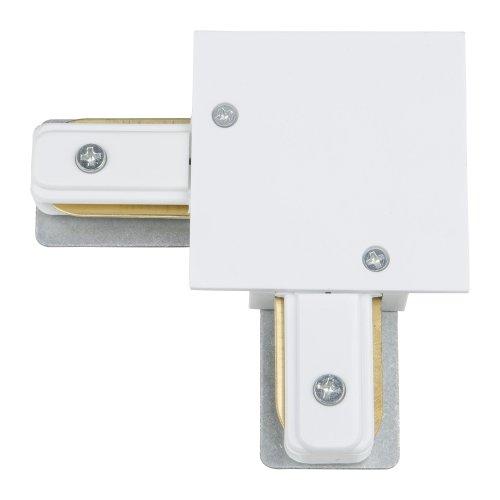UBX-Q123 R21 WHITE 1 POLYBAG Соединитель для шинопроводов типа R. L-образный. Однофазный. Белый. ТМ Vople