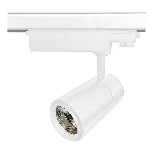 ULB-T52-24W-4000K-H WHITE Светильник-прожектор светодиодный трековый. 2200 Лм. Белый свет 4000К. Корпус белый. ТМ Uniel