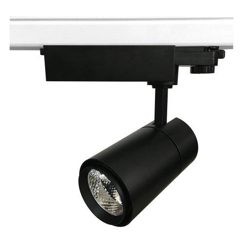 ULB-T52-24W-4000K-H BLACK Светильник-прожектор светодиодный трековый. 2200 Лм. Белый свет 4000К. Корпус черный. ТМ Uniel