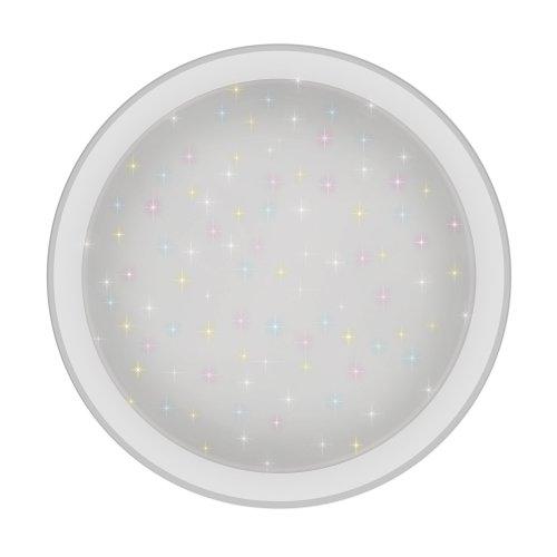 ULI-D213 60W-SW-55 ARIES Светильник светодиодный накладной. Диммируемый. Пульт ДУ в-к. Теплый свет3000К-Белый свет4000К-Дневной свет6500К. 4200Лм. IP20. TM Uniel.