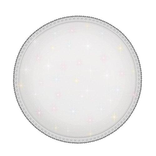 ULI-D237 60W-SW-50 GEMINI Светильник светодиодный накладной. Диммируемый. Пульт ДУ в-к. Теплый свет3000К-Белый свет4000К-Дневной свет6500К. 4200Лм. IP20. TM Uniel.