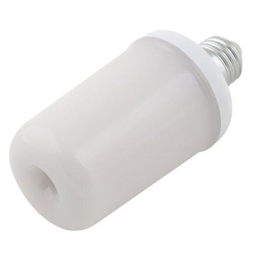 LED-L60-6W-FLAME-E27-FR PLD01WH Лампа светодиодная декоративная с типом свечения эффект пламени. Форма цилиндр. матовая. Картон. ТМ Uniel.