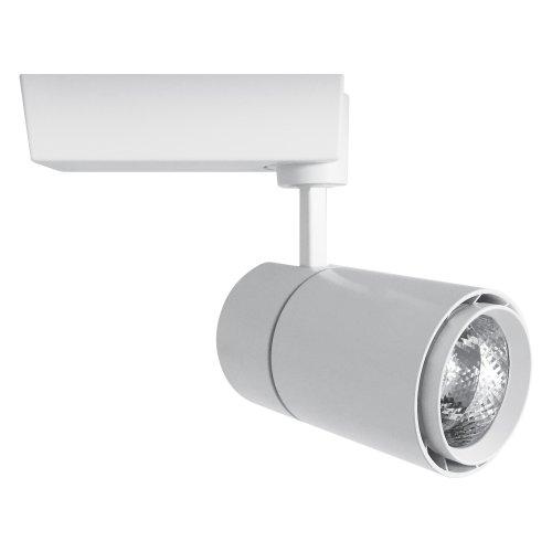 ULB-Q252 50W-NW-B WHITE Светильник светодиодный трековый. 50 Вт. 4300Лм. Белый свет 4200К. Корпус белый. 11.5x22см. ТМ Volpe.