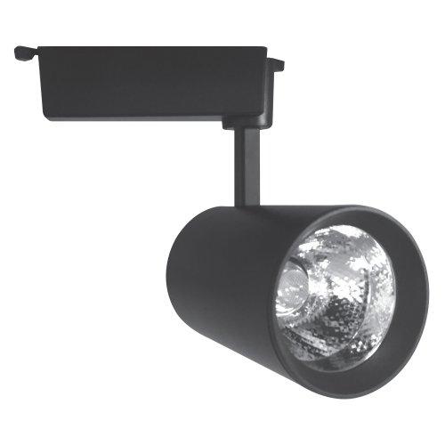 ULB-Q253 24W-NW-A BLACK Светильник светодиодный трековый. 24 Вт. 2000Лм. Белый свет 4200К. Корпус черный. 9.5x19см. ТМ Volpe.