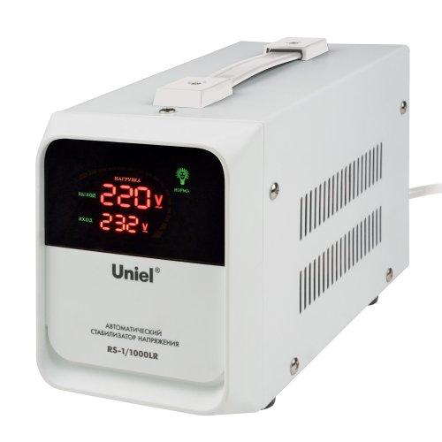 RS-1-1000LR Стабилизатор напряжения для холодильников. Однофазный релейный. 1000ВА. Напольный. TM Uniel.