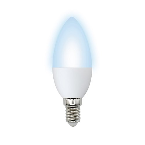 LED-C37-11W-NW-E14-FR-NR Лампа светодиодная. Форма свеча. матовая. Серия Norma. Белый свет 4000K. Картон. ТМ Volpe