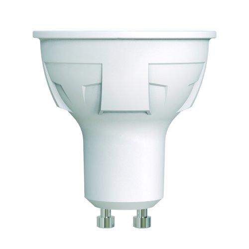 LED-JCDR 6W-NW-GU10-FR-DIM PLP01WH Лампа светодиодная. диммируемая. Форма JCDR. матовая. Серия ЯРКАЯ. Белый свет 4000K. Картон. ТМ Uniel.
