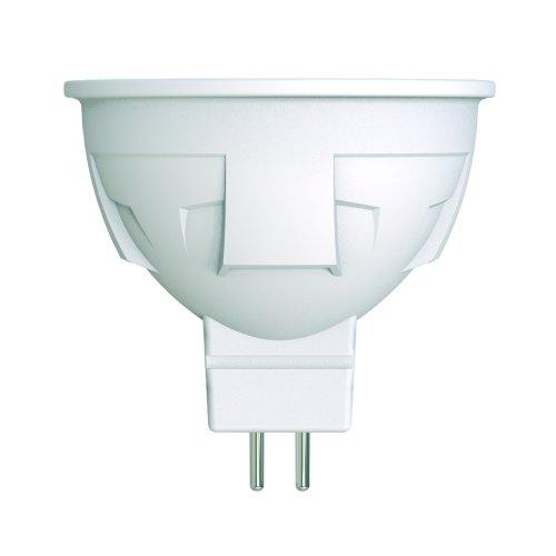 LED-JCDR 6W-WW-GU5.3-FR-DIM PLP01WH Лампа светодиодная. диммируемая. Форма JCDR. матовая. Серия ЯРКАЯ. Теплый белый свет 3000K. Картон. ТМ Uniel
