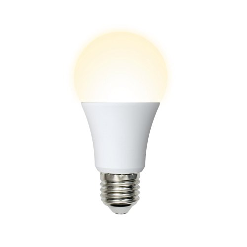 LED-A60-13W-WW-E27-FR-NR Лампа светодиодная. Форма A. матовая. Серия Norma. Теплый белый свет 3000K. Картон. ТМ Volpe