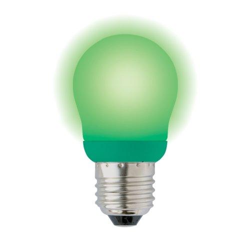 ESL-G45-9-GREEN-E27 Лампа энергосберегающая. Картонная упаковка