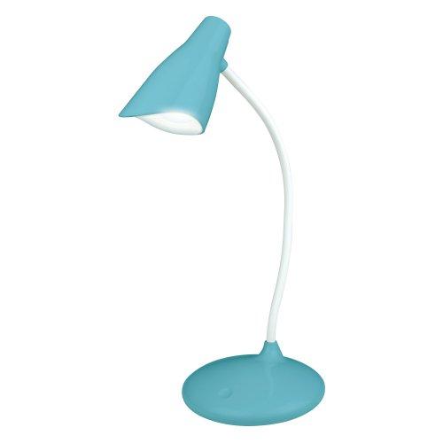 TLD-559 Blue-LED-280Lm-5000K-Dimmer Светильник настольный. 3W. Сенсорный выключатель. Голубой. ТМ Uniel