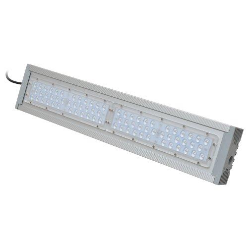 ULV-R24J-120W-5000К IP65 SILVER Светильник светодиодный уличный консольный. Белый свет 5000К. Угол 150x40 градусов. TM Uniel.