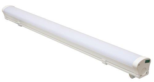ULO-K20A 40W-4000K-L100 IP65 WHITE Светильник линейный светодиодный подвесной. Белый свет 4000К. 4360Лм. 1000Х76х76мм. Корпус белый. TM Uniel.