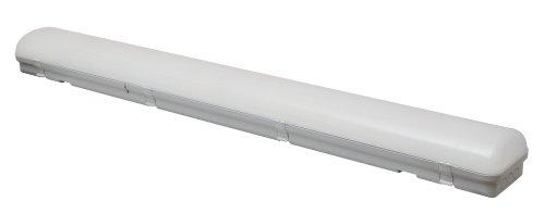 ULY-K70B 60W-5000K-L126 IP65 WHITE Светильник светодиодный промышленный. Белый свет 5000К. 6540Лм. 1260X150x100мм. Корпус белый. TM Uniel.