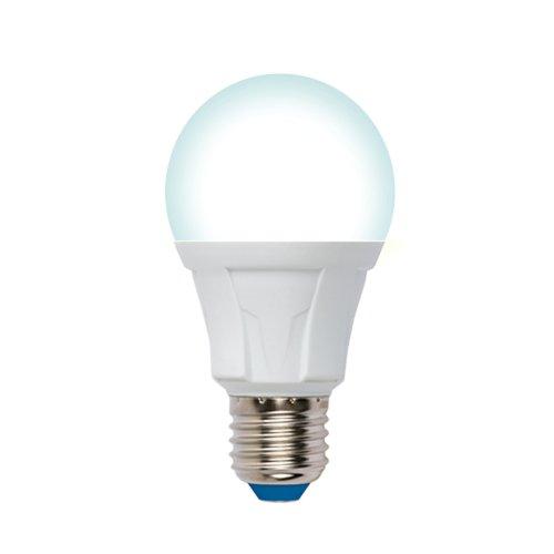 LED-A60 12W-4000K-E27-FR-DIM PLP01WH Лампа светодиодная. диммируемая. Форма А. матовая. Серия Яркая. Белый свет 4000К. Картон. ТМ Uniel.