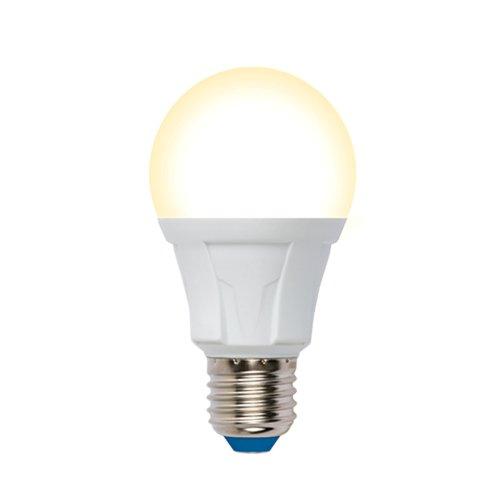 LED-A60 12W-3000K-E27-FR-DIM PLP01WH Лампа светодиодная. диммируемая. Форма А. матовая. Серия Яркая. Теплый белый свет 3000К. Картон. ТМ Uniel.