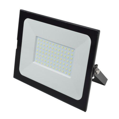 ULF-Q513 100W-6500K IP65 220-240В BLACK Прожектор светодиодный. Дневной свет6500К. Корпус черный. TM Volpe.