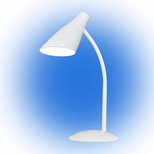 TLD-562 White-LED-360Lm-4500K-Dimmer Светильник настольный. 5W. Сенсорный выключатель. Белый. ТМ Uniel
