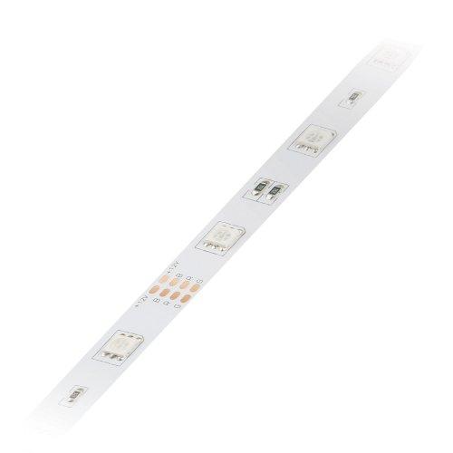 ULS-Q210 5050-30LED-m-10mm-IP20-DC12V-7.2W-m-5M-RGB Гибкая светодиодная лента на самоклеящейся основе. Катушка 5 м. в герметичной упаковке. RGB. ТМ Volpe.