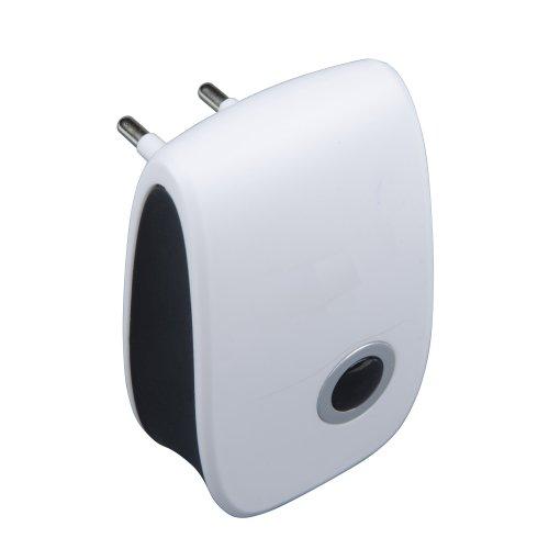UDR-E11 WHITE Ультразвуковой отпугиватель насекомых и грызунов.  220В. Площадь до 80м2. Белый. TM Uniel
