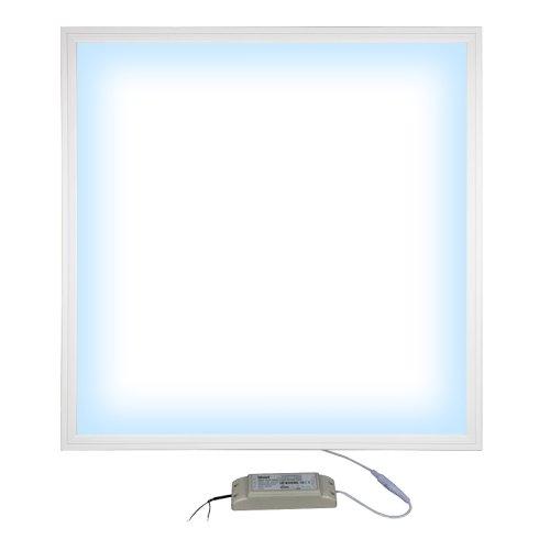 ULP-6060-36W-6500K-HM EFFECTIVE WHITE Светильник светодиодный потолочный встраиваемый с креплением. Дневной свет 6500K. Корпус белый. В комплекте с и-п. ТМ Uniel.
